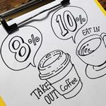 イートイン脱税。消費税8%で食べ物を買って店内で食べるのは法的に問題あり?